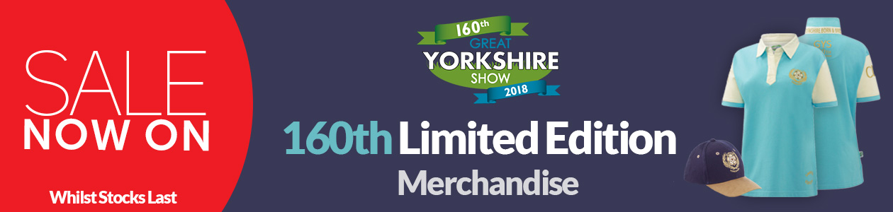 Great Yorkshire Show - Sale Now On